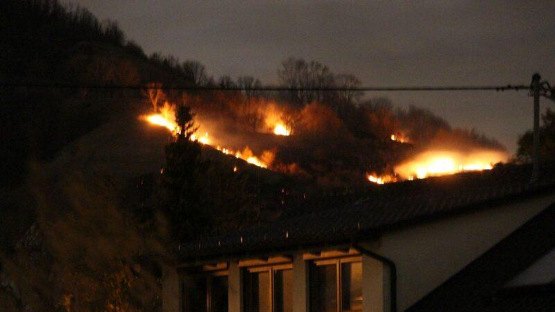 Flächenbrand auf der Achalm!