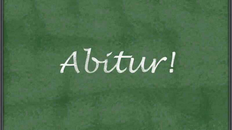 Abitur 2020 startet am Montag den 18. Mai