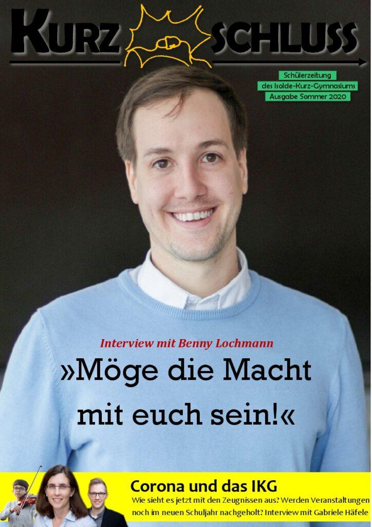 Zeitung Ausgabe 4 Titelblatt