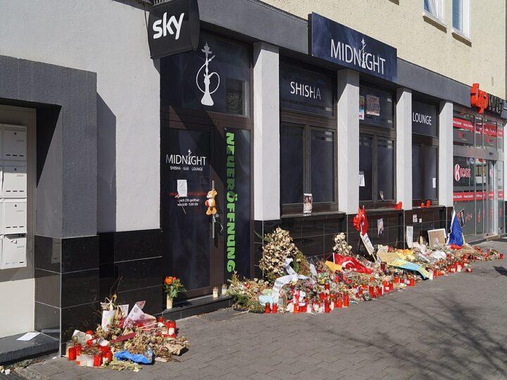 Erinnerung an den Anschlag in Hanau vor einem halben Jahr