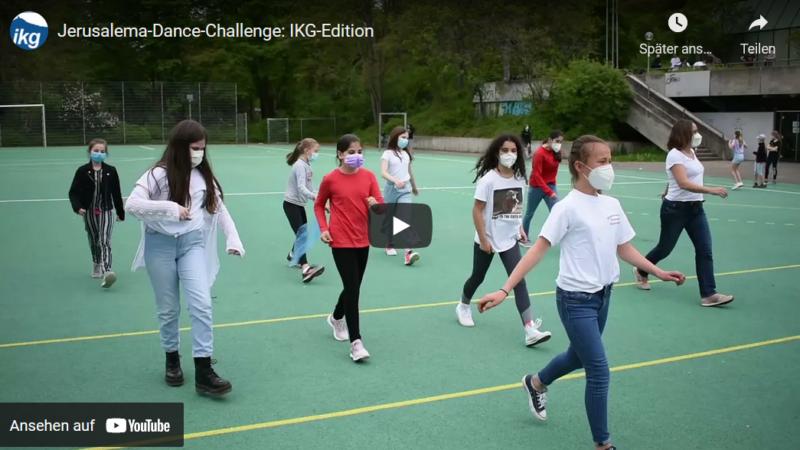 Jerusalema-Dance-Challenge: Video veröffentlicht (IKG Reutlingen)